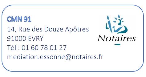 logo médiation notaires Essonne