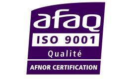 LA CHAMBRE CERTIFIEE ISO 9001 : 2015