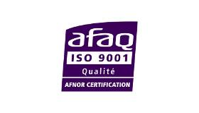 La Chambre certifiée ISO 9001