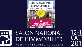 Salon de l'immobilier | 12-14 octobre 2018