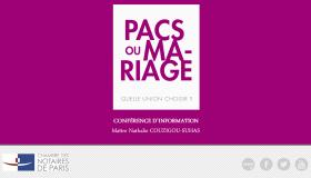 Notaires Du Grand Paris Video Conference Pacs Mariage Quelle