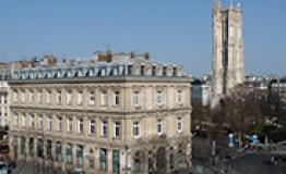 L'immeuble de la Place du Châtelet