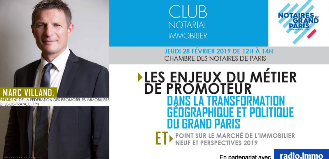 Club Notarial de l'Immobilier - Marc VILLAND