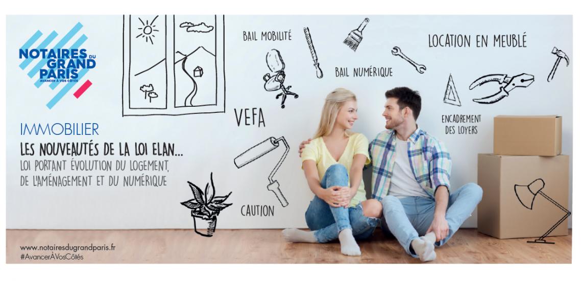 Logement, aménagement, numérique... les nouveautés de la loi ELAN pour l'immobilier