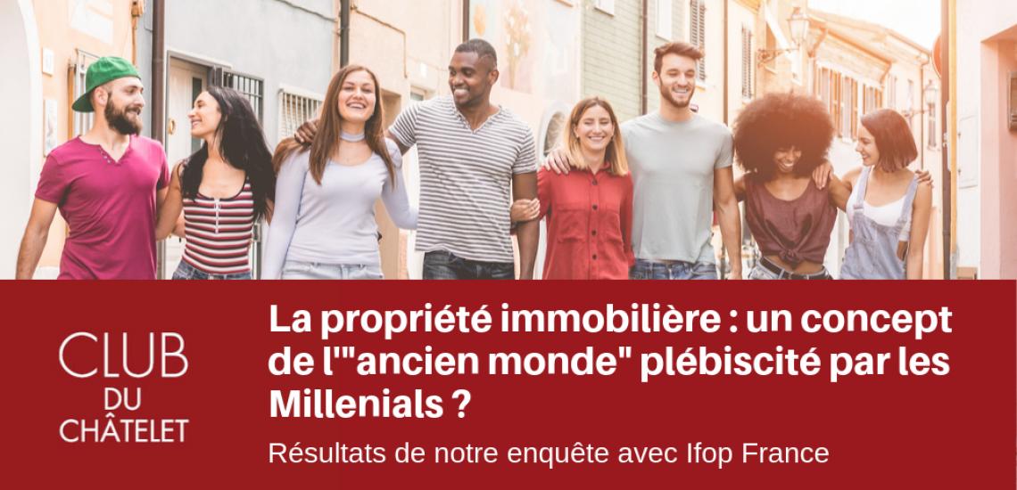 IMMOBILIER l GRAND PARIS : les nouvelles générations franciliennes et le logement